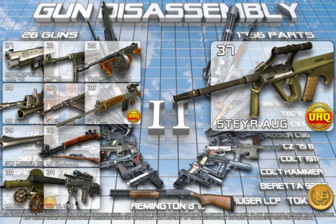 Gun Disassembly 2 (v0 2) 3D APK + Code for unlocking all weapons